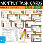 """Teacher, I'm Done!"" Task Cards for October"