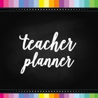 Teacher & Lesson Planner Editable with Common Core SS {Cha