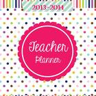 Teacher & Lesson Planner Editable with Common Core SS {Happy Day}