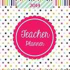 Teacher Lesson Planner for Teachers with School Year Jan-D