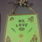 Teacher Name Canvas *Personalized*