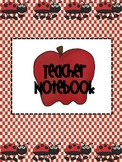 Teacher Notebook Organizer Apple Theme