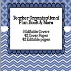 Teacher Organizational Plan Book and More: Blueberry