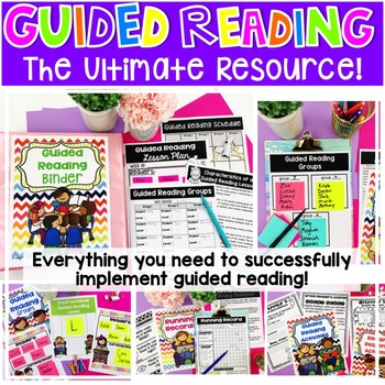 Teacher Reading Binder: Ultimate Resource for any Teacher!