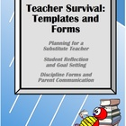 Teacher Survival: Templates and Forms