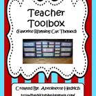 Teacher Toolbox (Favorite Rhyming Cat Themed) - EDITABLE
