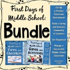 ClassroomManagement: First Days of Middle School - Bundle