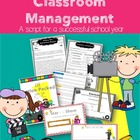 Teachers Classroom Management Packet