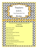 Teacher's D.O.T. Binder - The Ultimate Teacher Organizer
