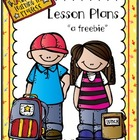 Teacher's Lesson Plan Freebie!