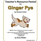 Teacher's Resource Packet for Ginger Pye