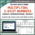Teaching 2-Digit Multiplication (Concrete, Representationa