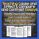 Teaching Cause/Effect and Compare/Contrast Essays