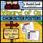 Teaching Character Education with Oz! posters and organizers