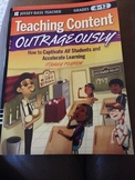 Teaching Content Outrageously -- Used Book