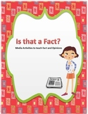 Teaching Fact and Opinion Concepts Using Media Activities