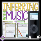 INFERENCE & PREDICTIONS: Using Music To Teach Inferential
