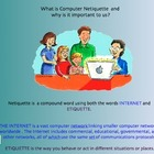 Teaching Internet and Computer Lab Rules with Netiquette f