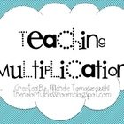 Teaching Multiplication {for beginners}