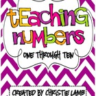 Teaching Numbers {1-10}