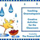 Teaching Onomatopoeia: Creative Activities for the Classroom