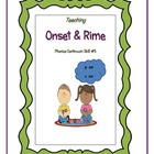 Teaching Onset and Rime or Word Families