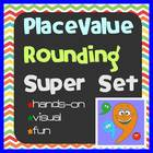 Teaching Place Value and Rounding Super Set - Comma Crew