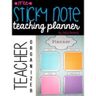 Teaching Sticky Note Planner