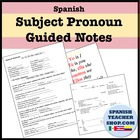 Teaching Subject Pronouns (5 pages)