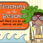 Teaching on the Beach {Beach Theme Classroom Part One}