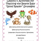 Teaching the Beanie Baby Animal Good Reading Strategies Ac