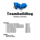 Teambuilding Unit for PE - Outdoor Activities