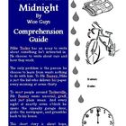 Tears Until Midnight Reading Comprehension Activity Guide