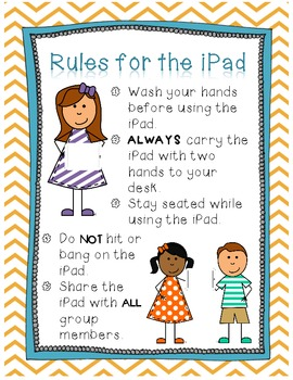 Tech Pack: iPad/ Tablet Rules