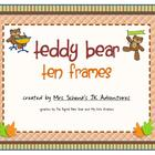 Teddy Bear Ten Frames
