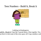 Teen Numbers Build It, Break It