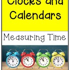Telling Time--Clocks and Calendars Teaching Unit