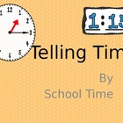 Telling Time Slideshow - Reading and Writing Time to the N