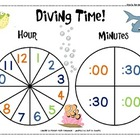 Telling Time Spinners - Differentiated