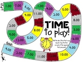 Telling Time to the Hour- BOARD GAME!