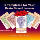 Templates for your Brain Based Lesson
