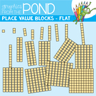 Ten Blocks Flat - Graphics for Teachers and Resources