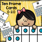 Ten-Frame Number Cards 0-20