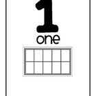 Ten Frame Number Set (Blank ten frames)