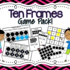 Ten Frames Game Pack {Common Core Aligned!}