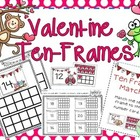 Ten Frames for Valentine's {K.NBT.1}