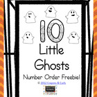 Ten Ghosts Number Order Freebie!