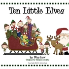 Ten Little Elves--Subtraction Poem/Book