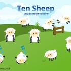 Ten Sheep (Short and Long Vowel E)
