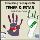 Tener Expressions + Feelings with Estar adjectivos